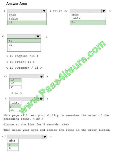 98-383 exam questions-q5-3