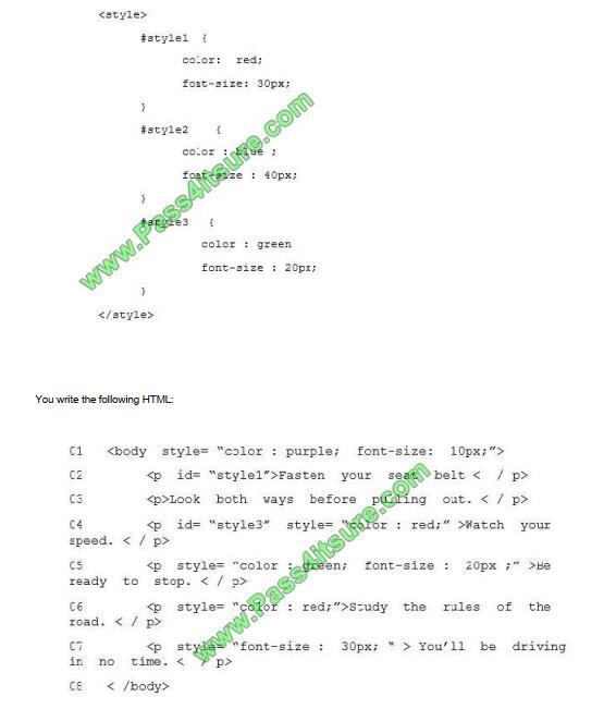 98-383 exam questions-q7