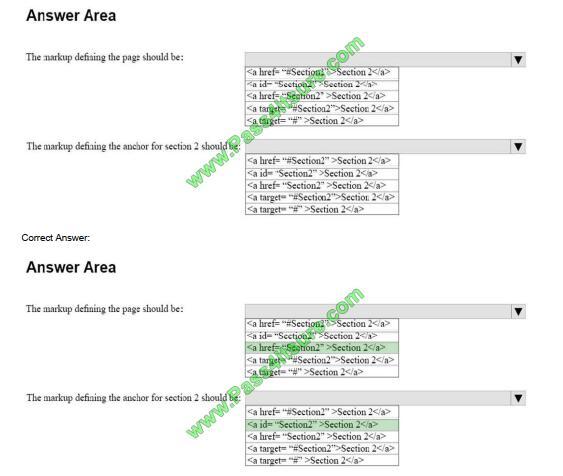 98-383 exam questions-q8