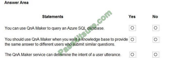 AI-900 exam questions-q7