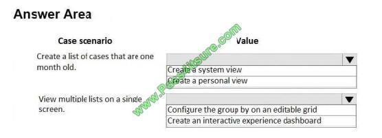 MB-230 exam questions-q13
