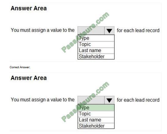 MB-910 exam questions-q9